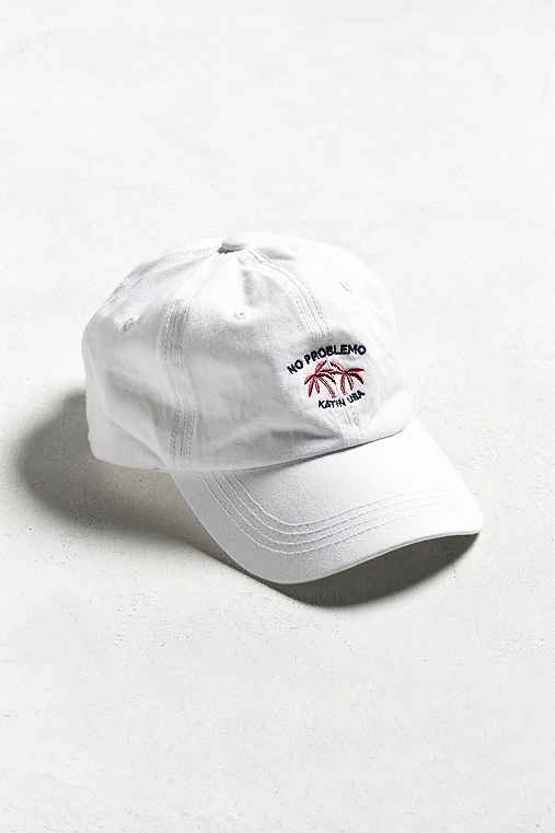 Katin No Problemo Dad Hat,WHITE,ONE SIZE