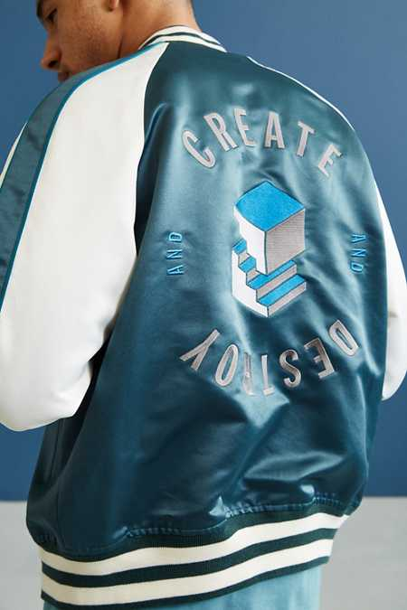 Wood Wood Ross Varsity Jacket