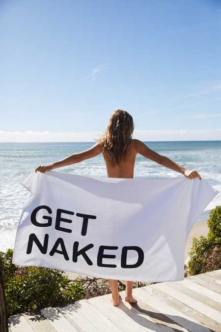 Get Naked Bath Towel