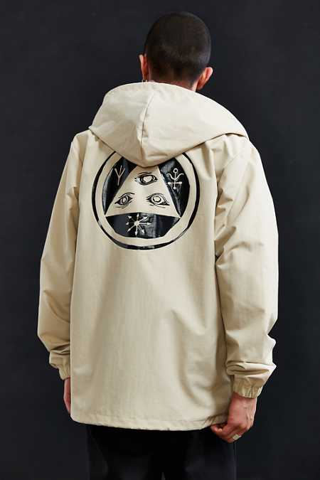 Welcome Talisman Hooded Coach Jacket