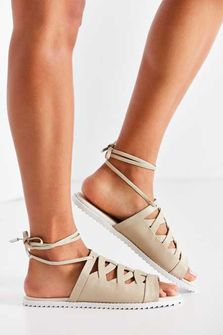 Intentionally Blank Hexagon Sandal