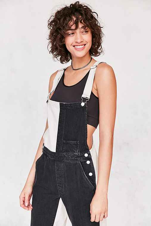 GUESS 1981 Colorblock Dungaree Overall