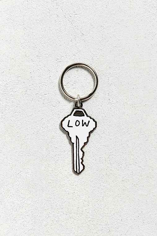 Valley Cruise Press X Katy Kosman Low Key Keychain,WHITE,ONE SIZE