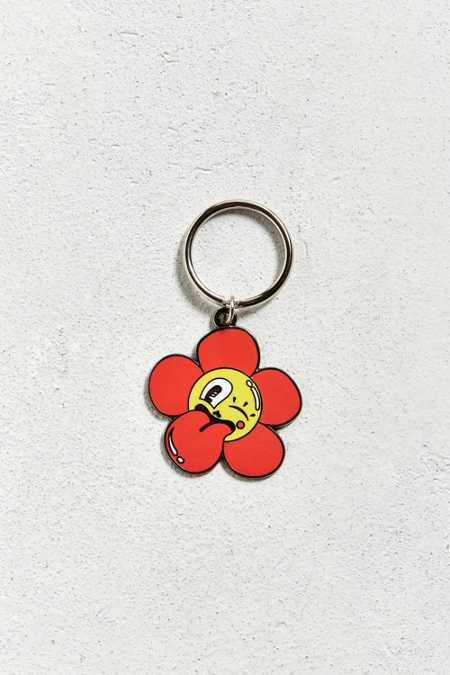 Valley Cruise Press X Hattie Stewart Cheeky Flower Keychain