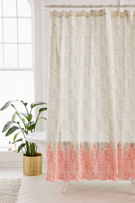 Emma Eyelet Shower Curtain