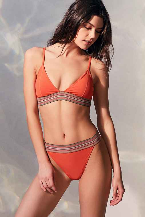 Out From Under Kai High Rise Bikini Bottom,CORAL,L
