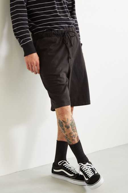 UO Washed Baggy Knit Short