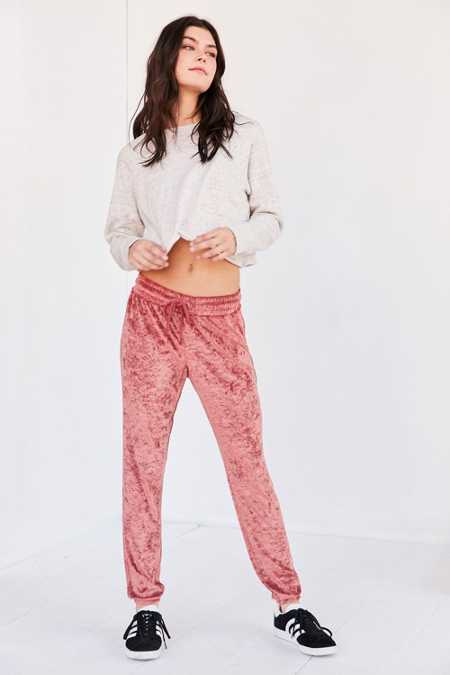 Out From Under Velvet Jogger Pant