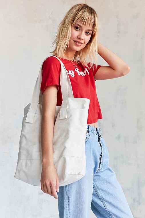 Canvas Tote Bag,CREAM MULTI,ONE SIZE