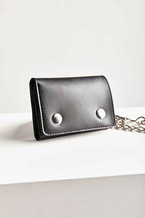 Chain Wallet,BLACK,ONE SIZE