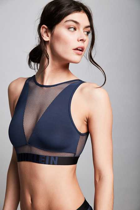 Calvin Klein ID Fashion High Neck Bralette