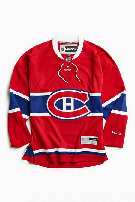 Reebok NHL Montreal Canadiens Hockey Jersey