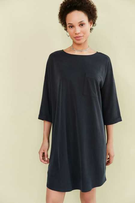 Silence + Noise Dolman Mini T-Shirt Dress