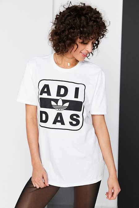 adidas Originals + UO Stenciled Logo Tee