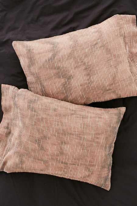 Bleached Slub Pillowcase Set