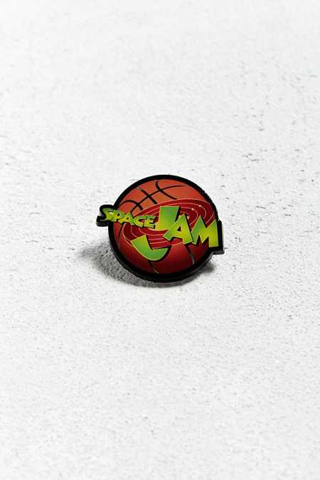 Space Jam Logo Pin