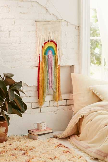 Rainbow Weave Wall Hanging