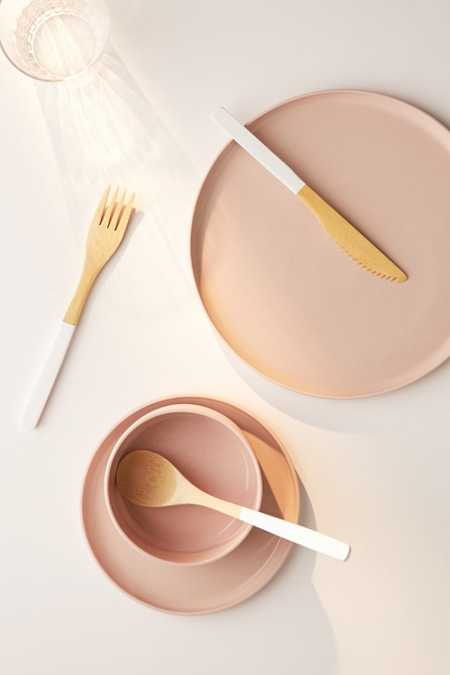 Core Bamboo 3-Piece Bamboo Flatware Set