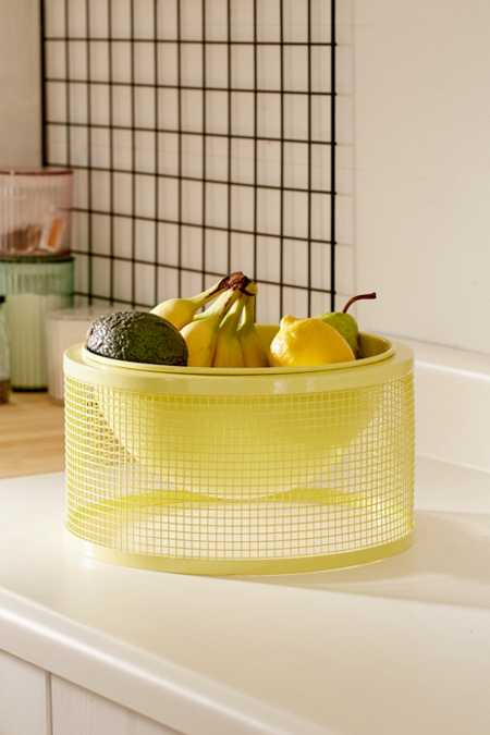 Mesh Fruit Bowl