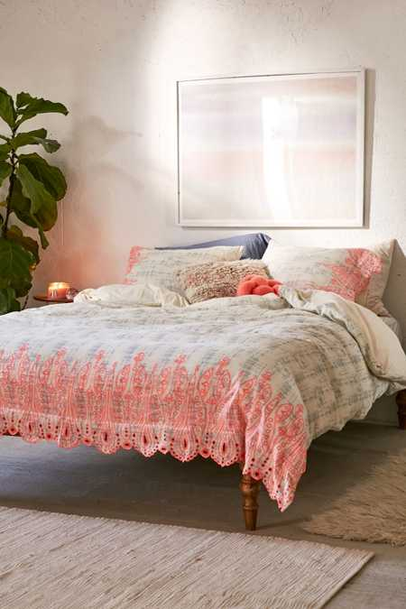 Emma Embroidered Duvet Cover