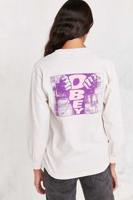 OBEY Break Through Long-Sleeve Tee