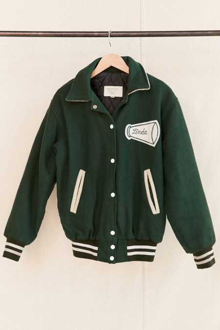 Vintage Cheerleader Varsity Jacket