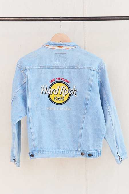 Vintage Myrtle Beach Hard Rock Cafe Jacket
