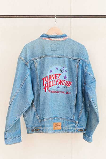 Vintage Planet Hollywood Washington D.C. Jacket