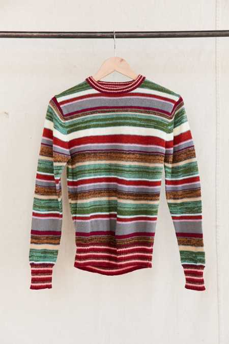 Vintage Multi-Stripe Sweater