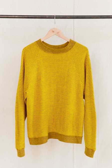Vintage Yellow Stripe Sweater