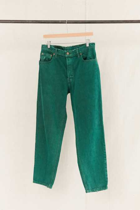 Vintage Levi's Overdyed Green Jean