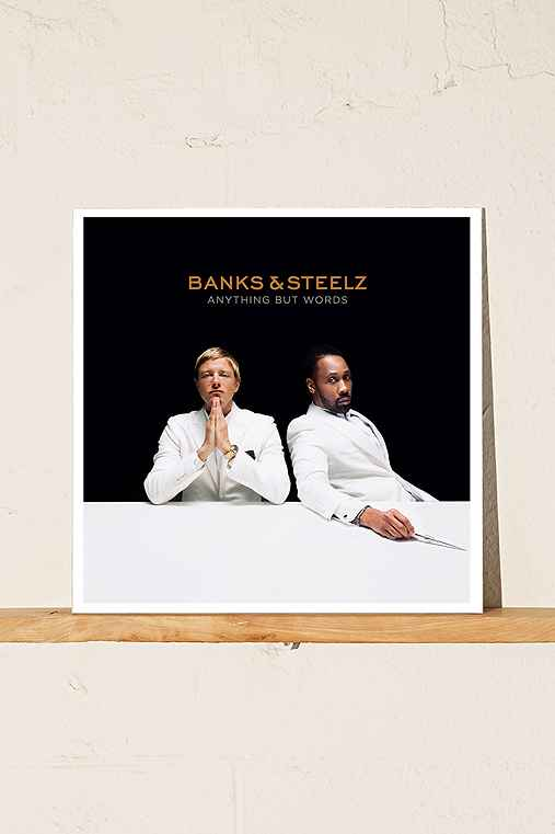 Banks & Steelz - Anything But Words 2XLP,BLACK,ONE SIZE