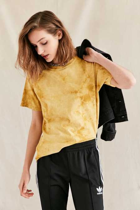 Urban Renewal Recycled Uneven Dyed Tee