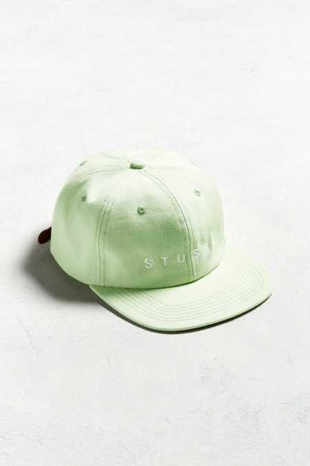 Stussy X UO Mint Baseball Hat