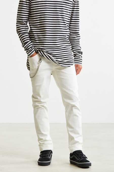 Cheap Monday White Stretch Skinny Jean