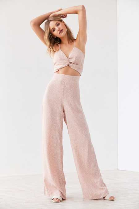 Flynn Skye Emily Knot-Front Jumpsuit