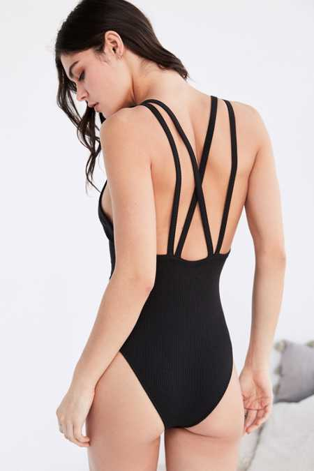 Out From Under Cross Your Heart Bodysuit