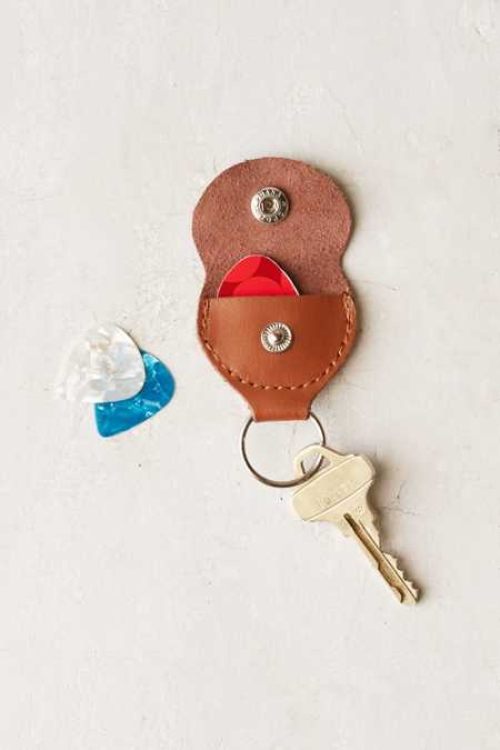 Guitar Pick Holder Keychain
