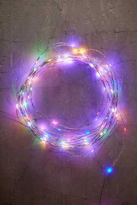 Extra-Long Multi-Colored Blinking String Lights