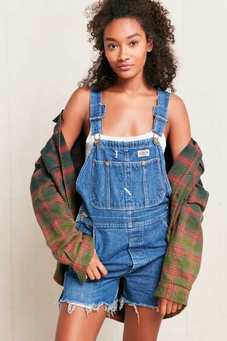 Vintage Dickies 90's Cut-Off Shortall Overall