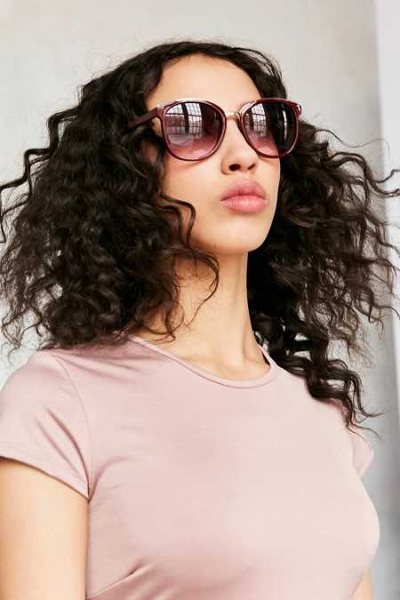 Café Slim Square Sunglasses