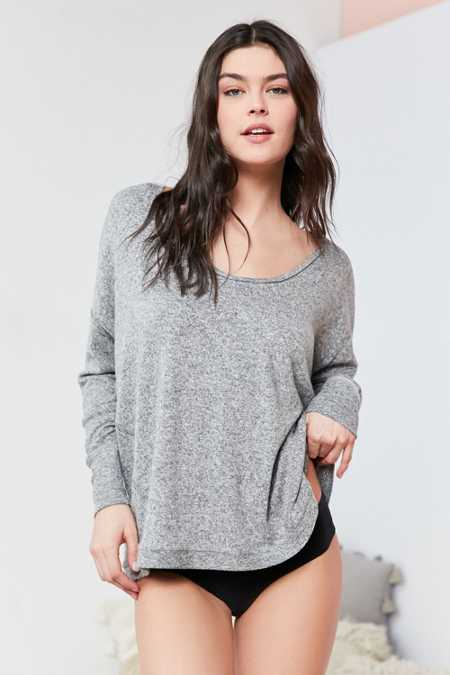 Out From Under Ava Cozy Scoop Neck Top