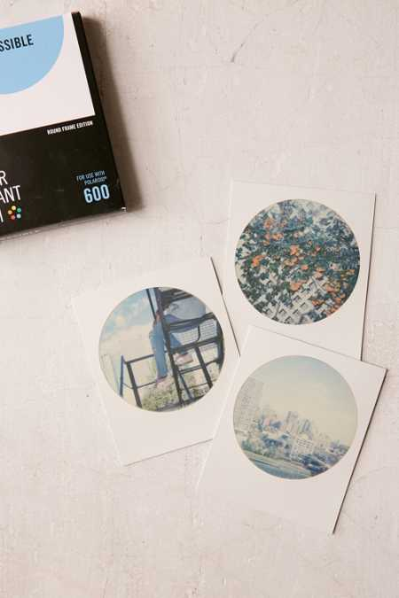 Impossible Color Polaroid 600 Round Frame Instant Film