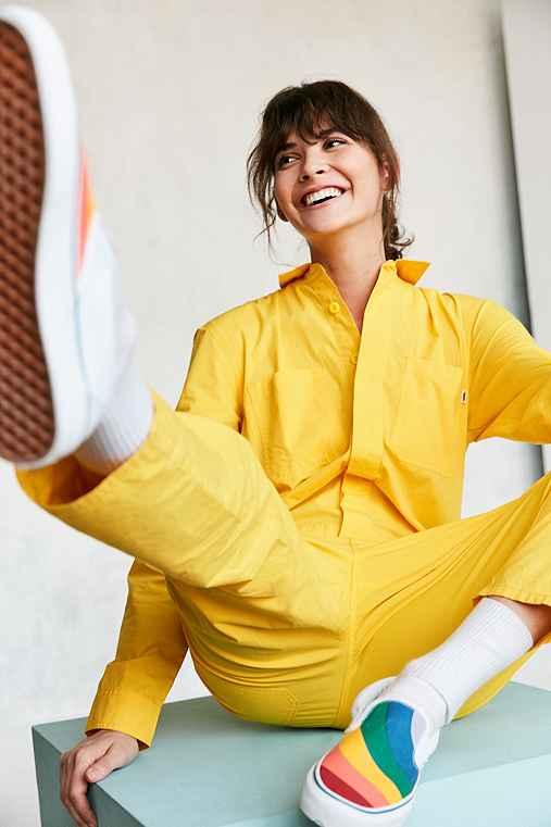 Vans & UO Workwear Jumpsuit,YELLOW,XS