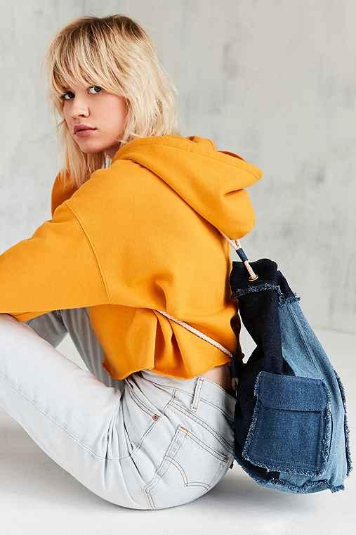 Kristen Denim Backpack,BLUE,ONE SIZE