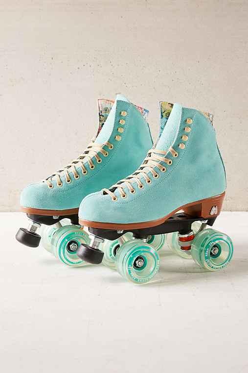 Moxi Leather Roller Skates,MINT,9