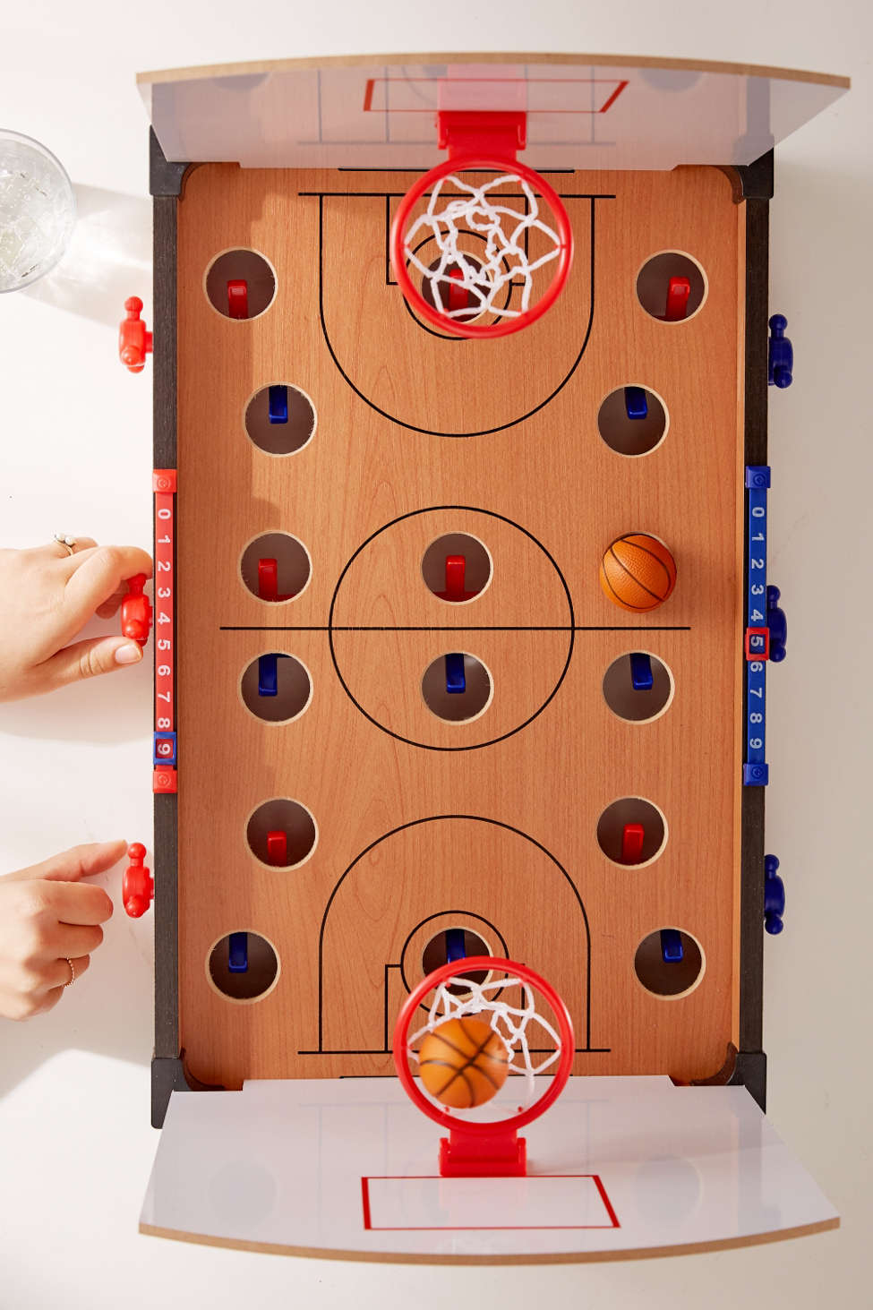 Fun Tabletop Basketball Game