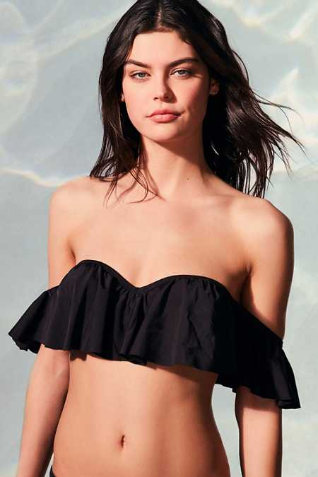 Out From Under Forever Ruffle Bikini Top