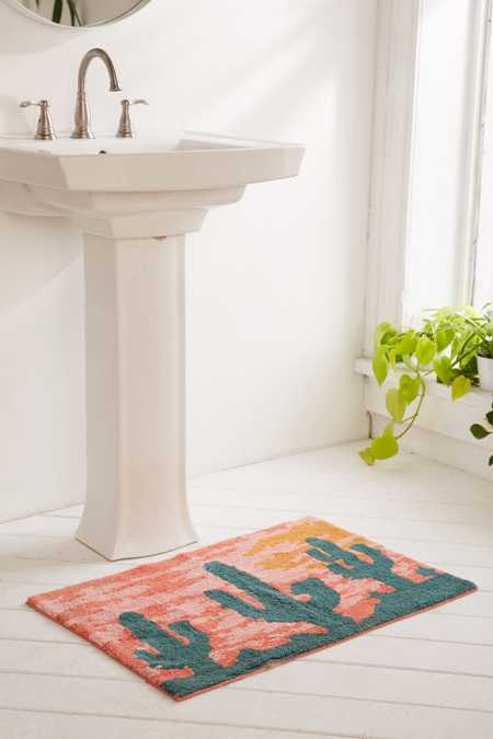 Desert Sunset Bath Mat