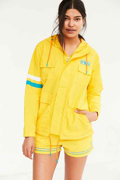 FILA + UO Christina Sail Jacket,YELLOW,S